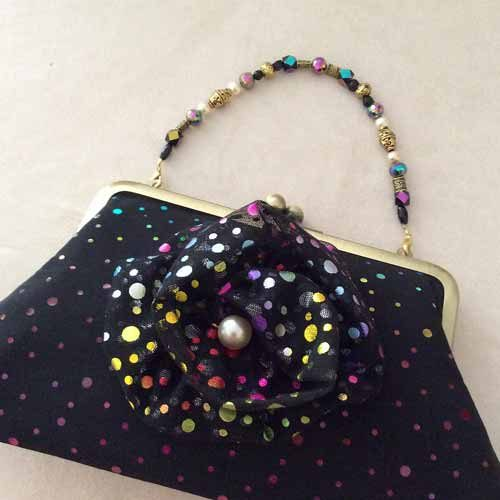 Bubbles Convertible Clutch