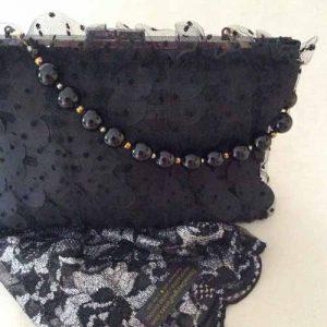 Dotted Veil Bracelet Clutch