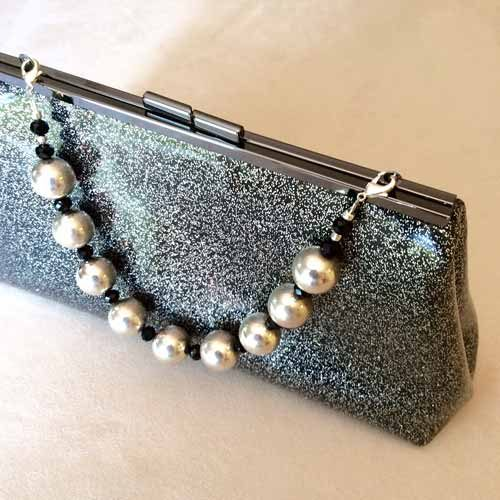 Retro Vinyl Convertible Clutch